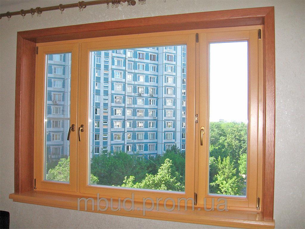 Деревянные окна в Виннице. Евроокна Nagel-Fenster