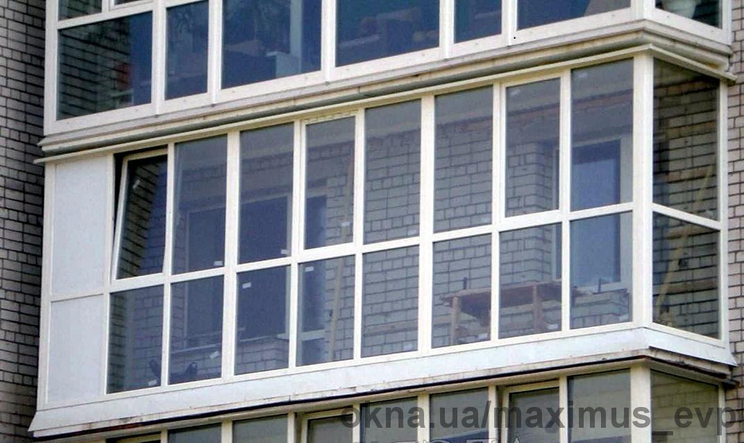 Металлопластиковые, Алюминиевые балконы и лоджии