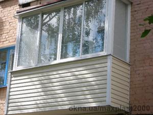 """Балкон с отделкой """"под ключ"""" — МаксПласт2000"""