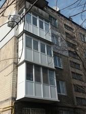 Балконы и окна из профилей STEKO, REHAU, WDS — МаксПласт2000