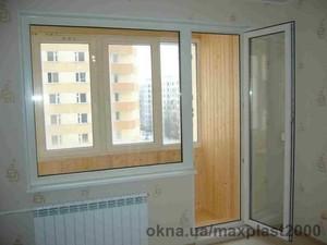 Балконный блок с подоконником — МаксПласт2000