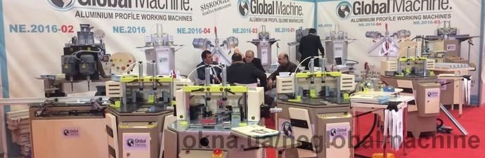 на выставке 2016 Стамбул — NEGLOBAL MACHINE