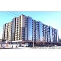 Остекление ЖК Набережный квартал в г. Днепропетровск