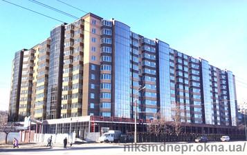 Остекление ЖК Набережный квартал в г. Днепр — НИКС-М