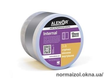 Стрічка віконна внутрішня пароізоляційна ALENOR® Internal_100 мм, 25 м (Універсальна)