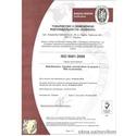 Cертификат соответствия стандартам ISO 9000:2008.