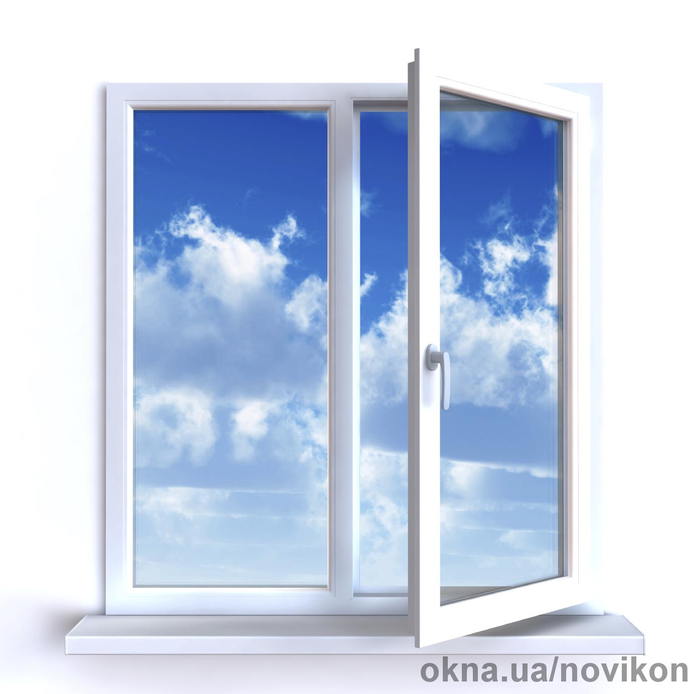 Энергоэффективное окно Rehau СИНЕГО