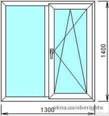 Металлопластиковые окна с подоконником, отливом, москитной сеткой и монтажем