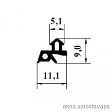 Ущільнювач 150-01-AluPlast
