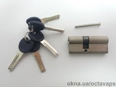 Серцевина замка ОСТО PROFI SN 30/40 Ni (никель) ключ-ключ