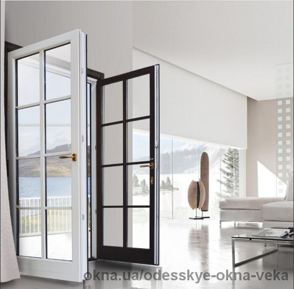 Качественные металлопластиковые входные двери из немецкого профиля VEKA