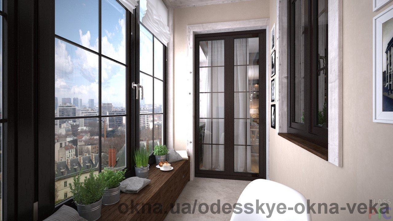 Профессиональное остекление балконов и лоджий немецкими окнами VEKA с гарантией 10 лет