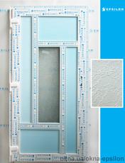 Двери входные с декоративным стеклом 2000х1000