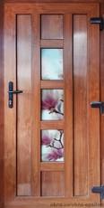 Двери с печатью на стекле 1950х900