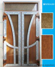 Двери штульповые 2490х1360