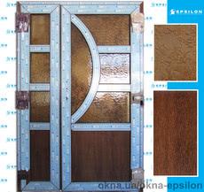 Двери штульповые 2000х1300