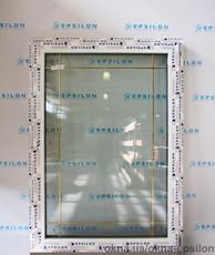 Окно одностворчатое с шпросами 1540х1090