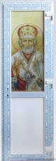Двери с УФ-печатью на стекле 2370х760