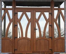 Двери штульповые 2390 х 2163