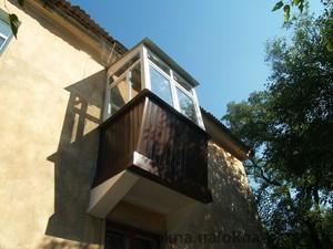 Реставрация и остекление балкона по ул. Калиновая — ОКНА+