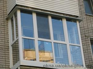 Французский балкон на Тепличной г.Днепропетровск — ОКНА+