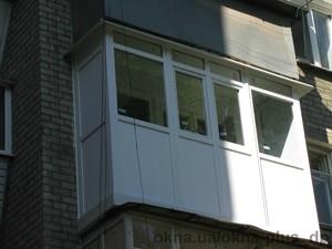 Остекление французского балкона — ОКНА+