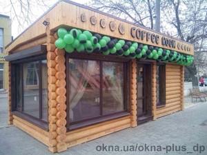 Кофейня в г.Павлоград — ОКНА+