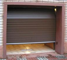 Секционные гаражные ворота ALUTECH. Роллетные ворта