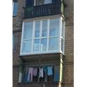 Французский балкон в хрущёвке