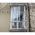Алюминиевый раздвижной балкон