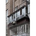 Балкон с крышей и выносом по подоконнмку