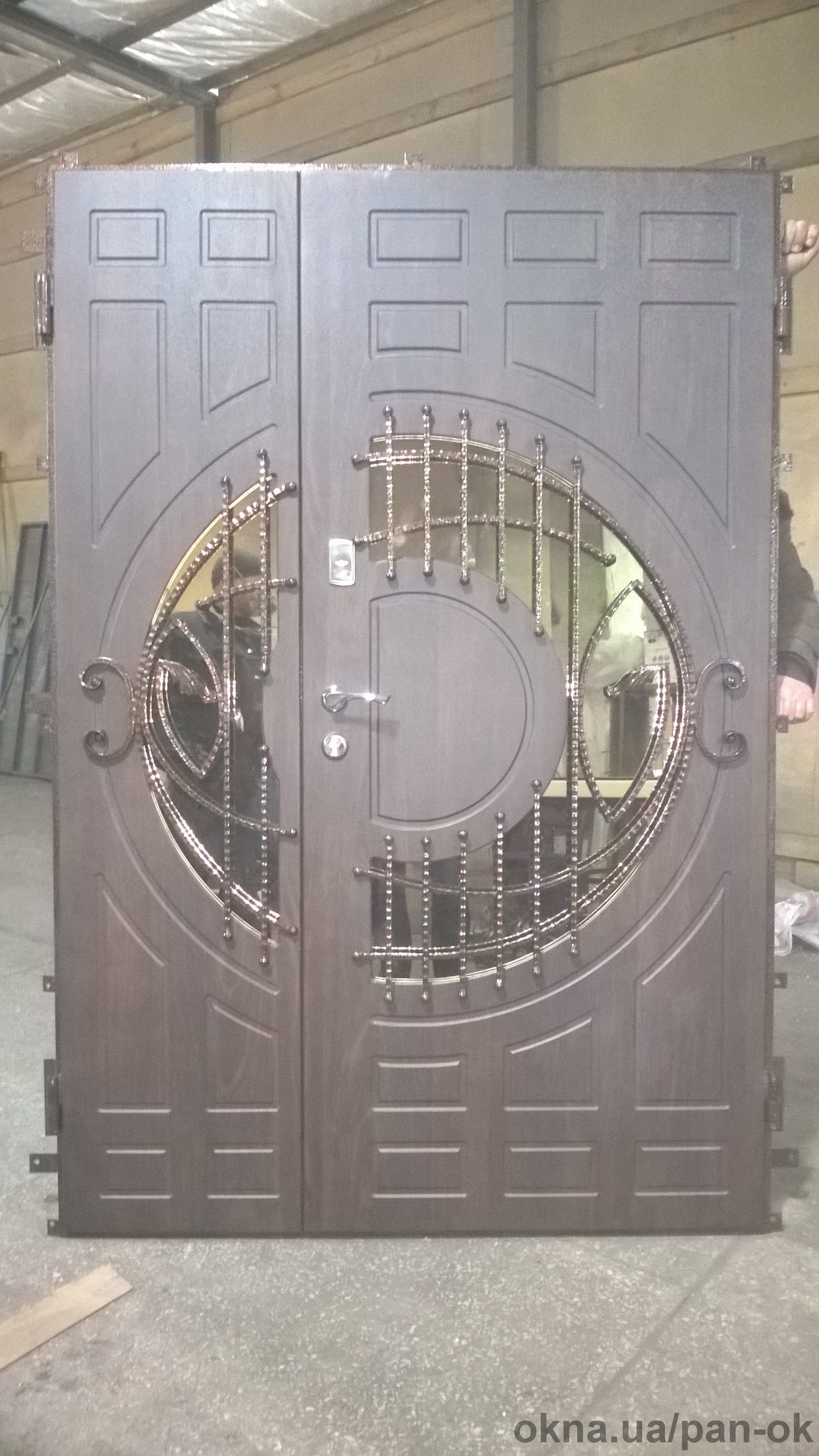 Металлические входные двери под заказ
