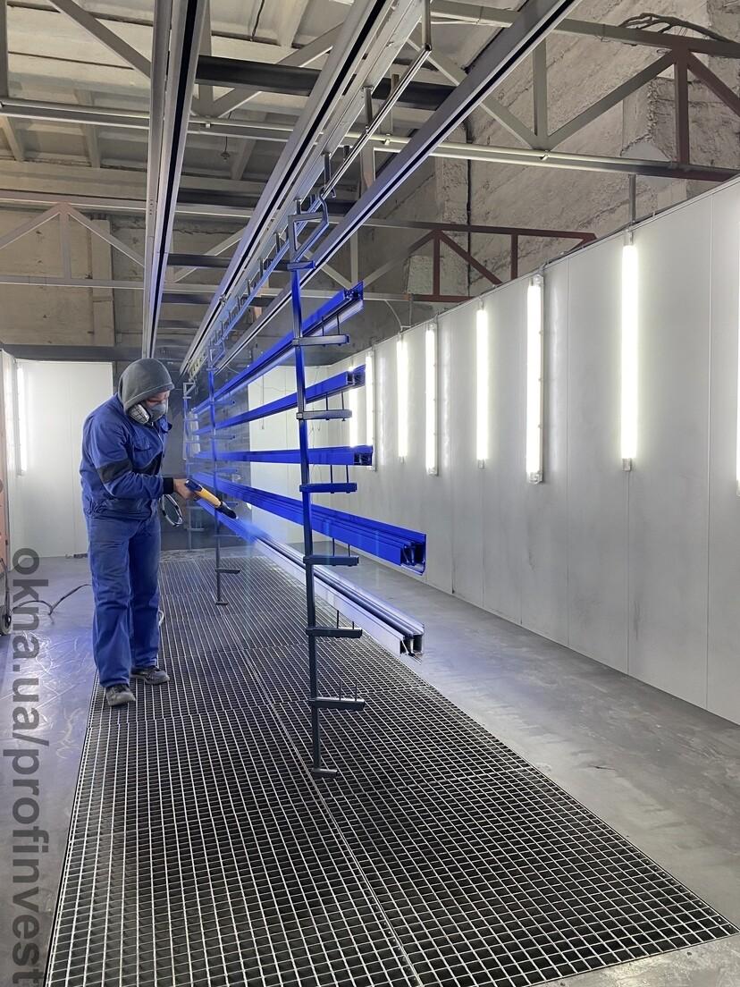 Порошкове і полімерне фарбування алюмінію і чорного металу
