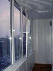 Окна балконы под ключ в Киеве. Откосы, обшивка, утепление