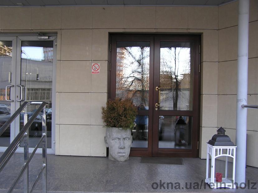 Входные двери из евробрусса