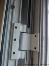 Петли для алюминиевых профилей с -94, ремонт дверей металлопластиковые и алюминиевые конструкции