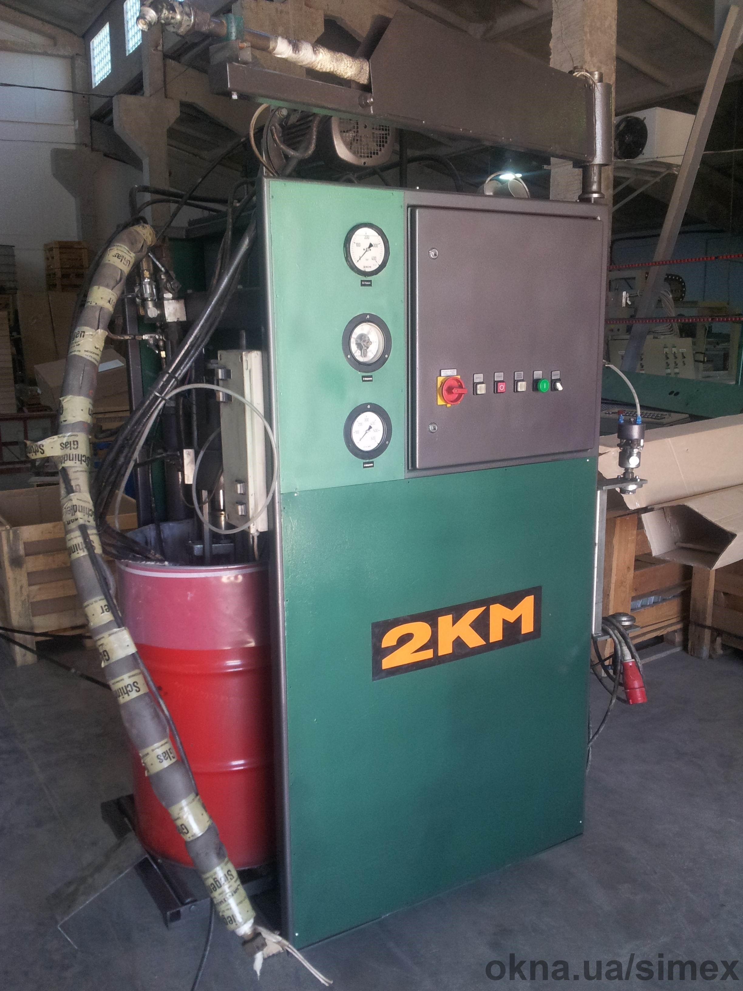 Экструдер для вторичной герметизации стеклопакета однокомпонентный Hоtmelt (Турция).