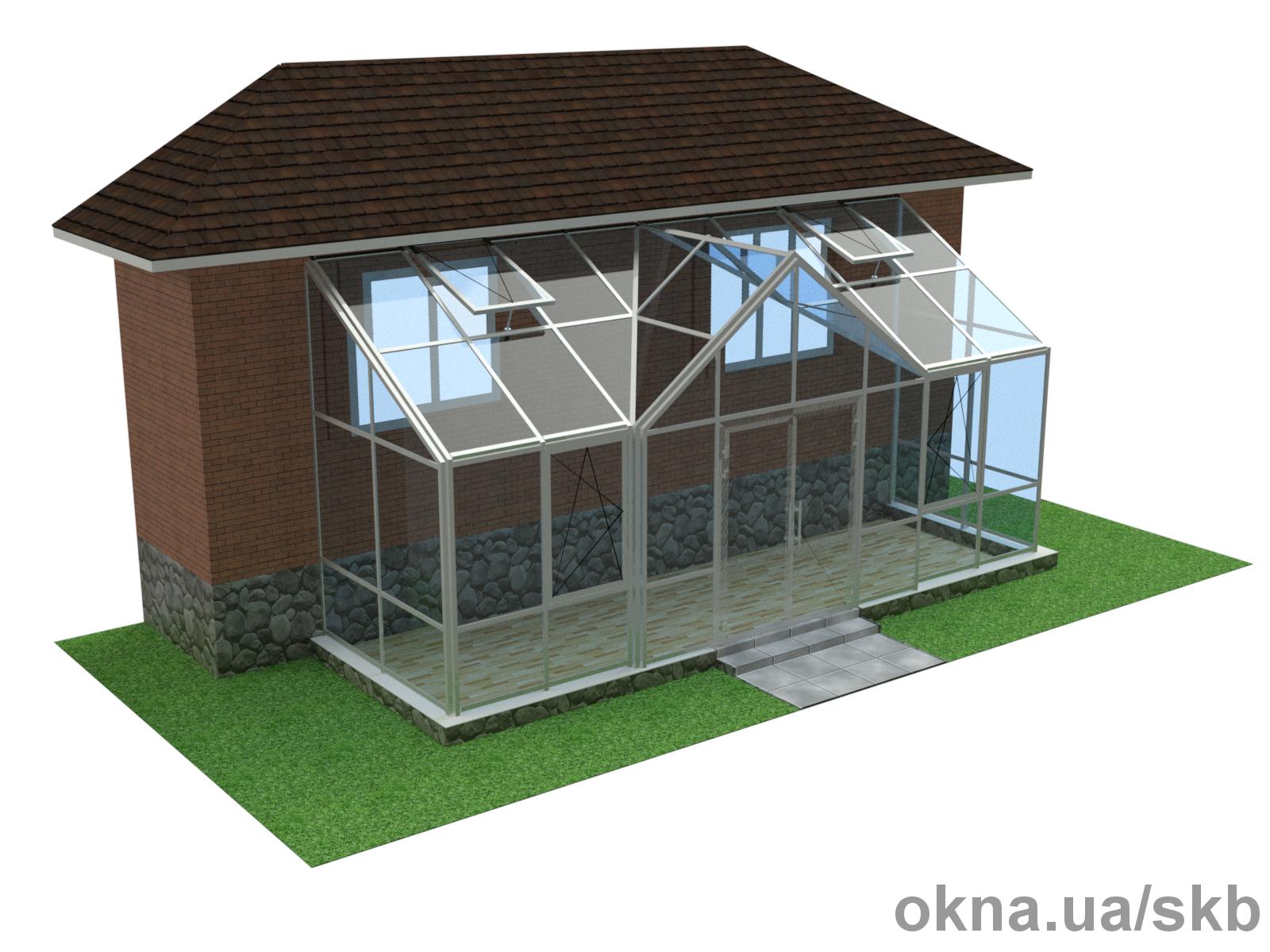 3D визуализация сложных пространственных конструкций.