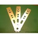 Анкерные пластины из оцинкованной стали для установки металлопластиковых окон из профилей KBE,WDS и др.