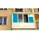 Остекление балкона новостой
