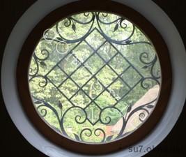 Круглые окна из евробруса — Домосвит