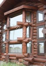 Деревянные окна в срубе — Домосвит
