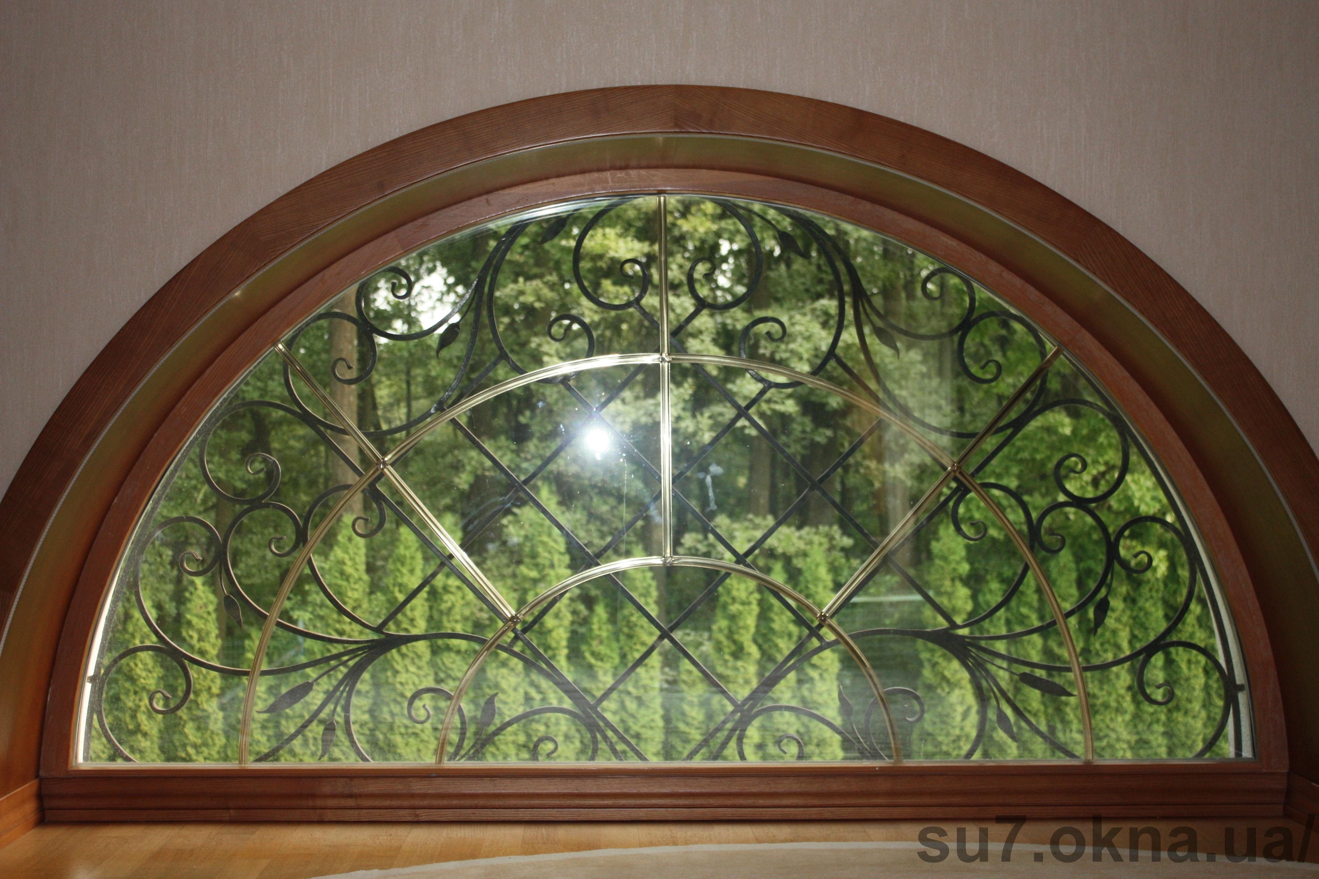 Деревянные окна из евробруса