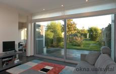 Алюминиевые раздвижные двери, подъемно-сдвижные двери, паралельно-раздвижные окна, двери типа «гармошка»