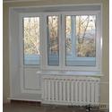 Балконный блок с теплыми откосами