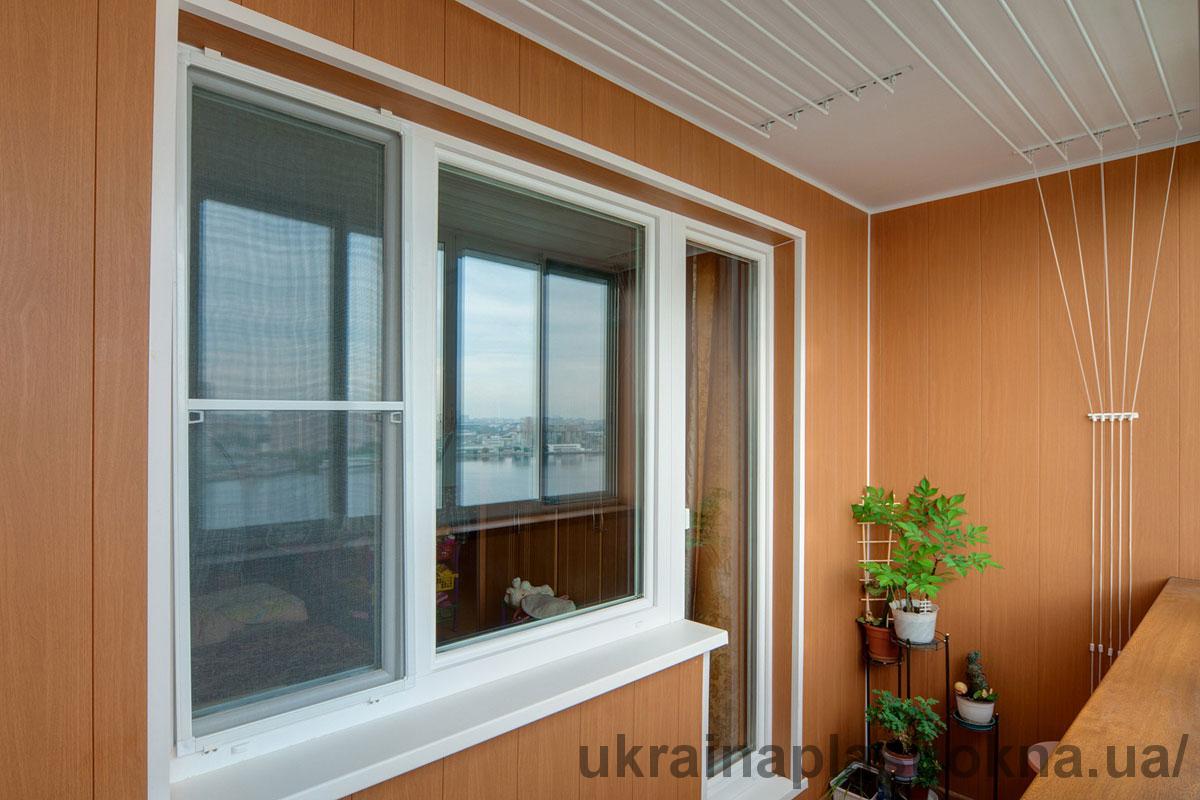 Балкон под ключ с выносом Обухов