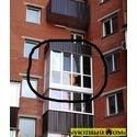 Французский балкон в новосторое На панянки 65 Б.