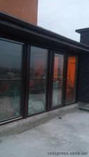 Стильное остекление патио окнами Rehau — Вікна Експрес
