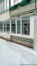 Балкон в чешкском проекте. Теплые окна KBE. — Вікна Експрес