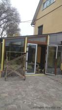 Окна Rehau на веранде — Вікна Експрес